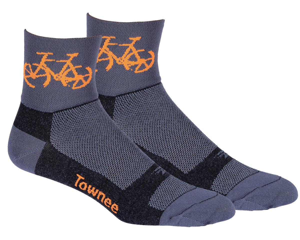 "DeFeet Aireator 3"" Townee Sock (Graphite) (S)"