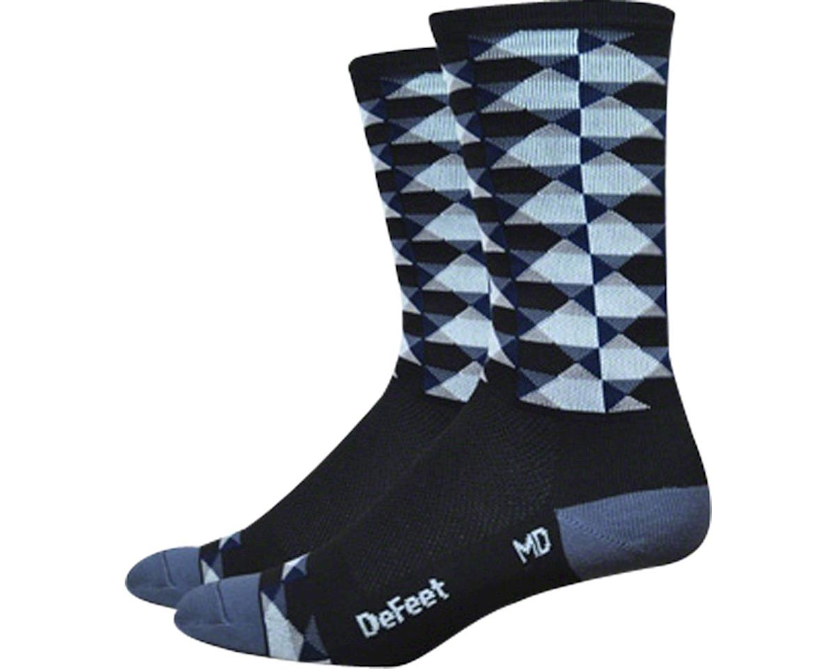 "DeFeet Hi Rouleur Aireator 6"" Speak Easy Sock (S)"