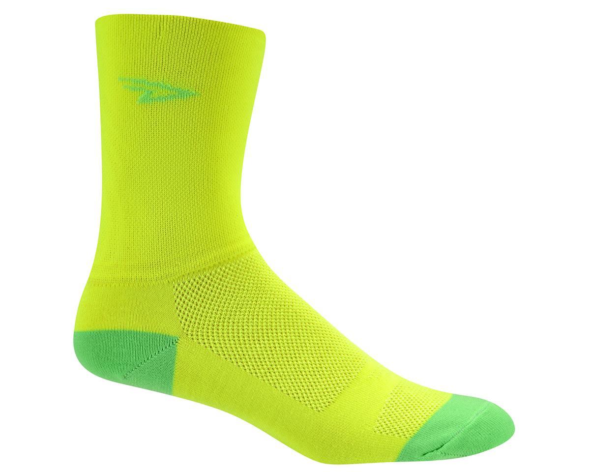Image 1 for DeFeet Aireator Hi Top Sock (Yellow/Green) (XL)