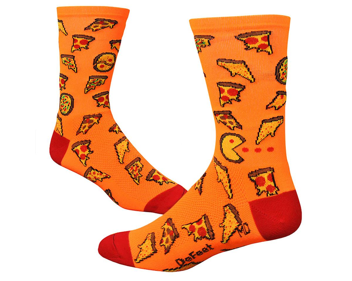 "Image 2 for DeFeet  Aireator 6"" , Socks, Pizza Party, L"