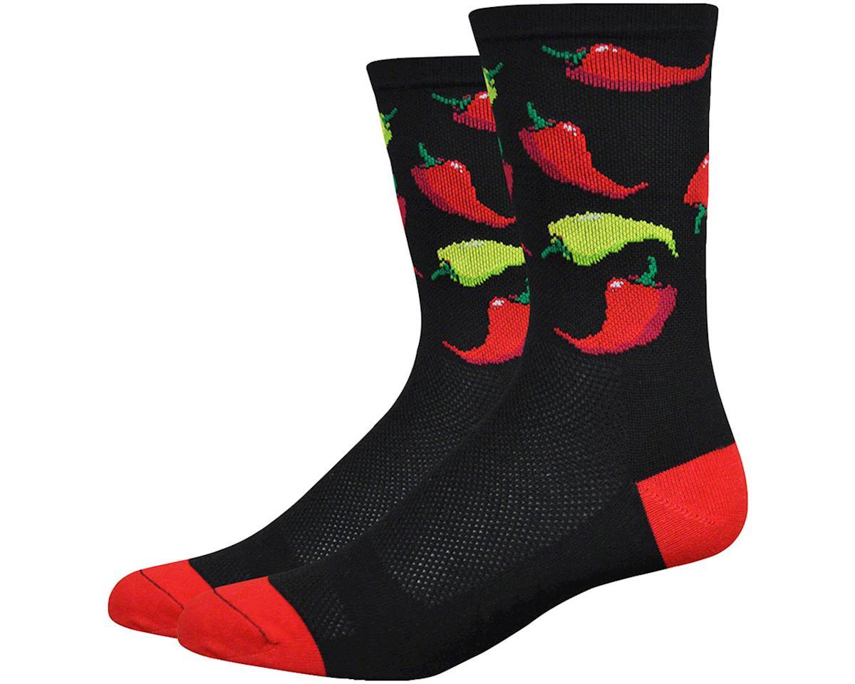 "DeFeet Aireator 6"" Scoville Socks (Black) (L)"