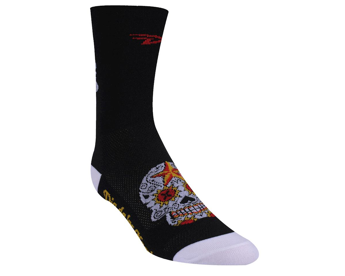 DeFeet Aireator Sugarskull Sock (Black)