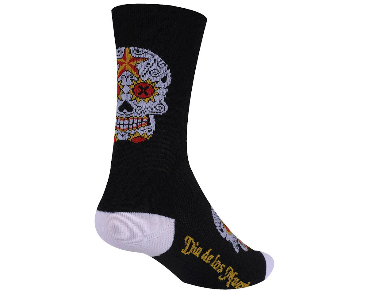 DeFeet Aireator Sugarskull Sock (Black) (S)