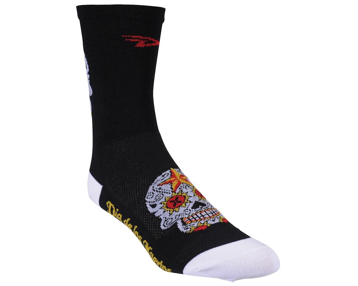 DeFeet Aireator Sugarskull Sock (Black) (M)
