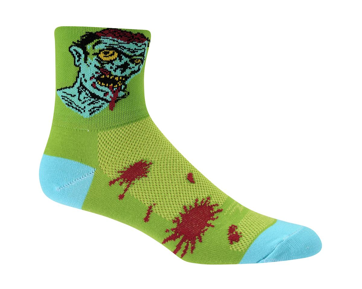 "DeFeet Aireator 3"" Zombie Socks (Green)"