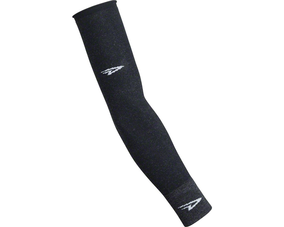 DeFeet Wool Armskins: Charcoal LG/XL