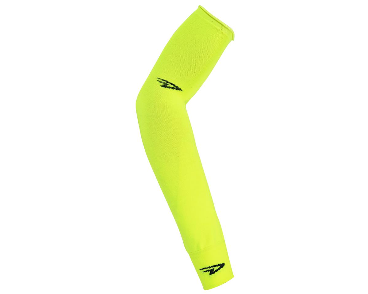DeFeet Armskins (Neon Yellow) (L/XL)