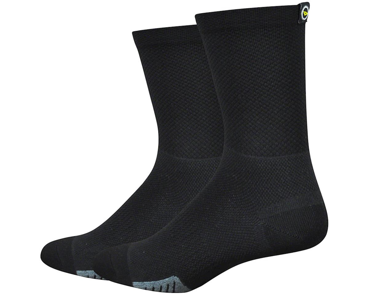 """DeFeet Cyclismo 5"""" Sock (Black) (L)"""