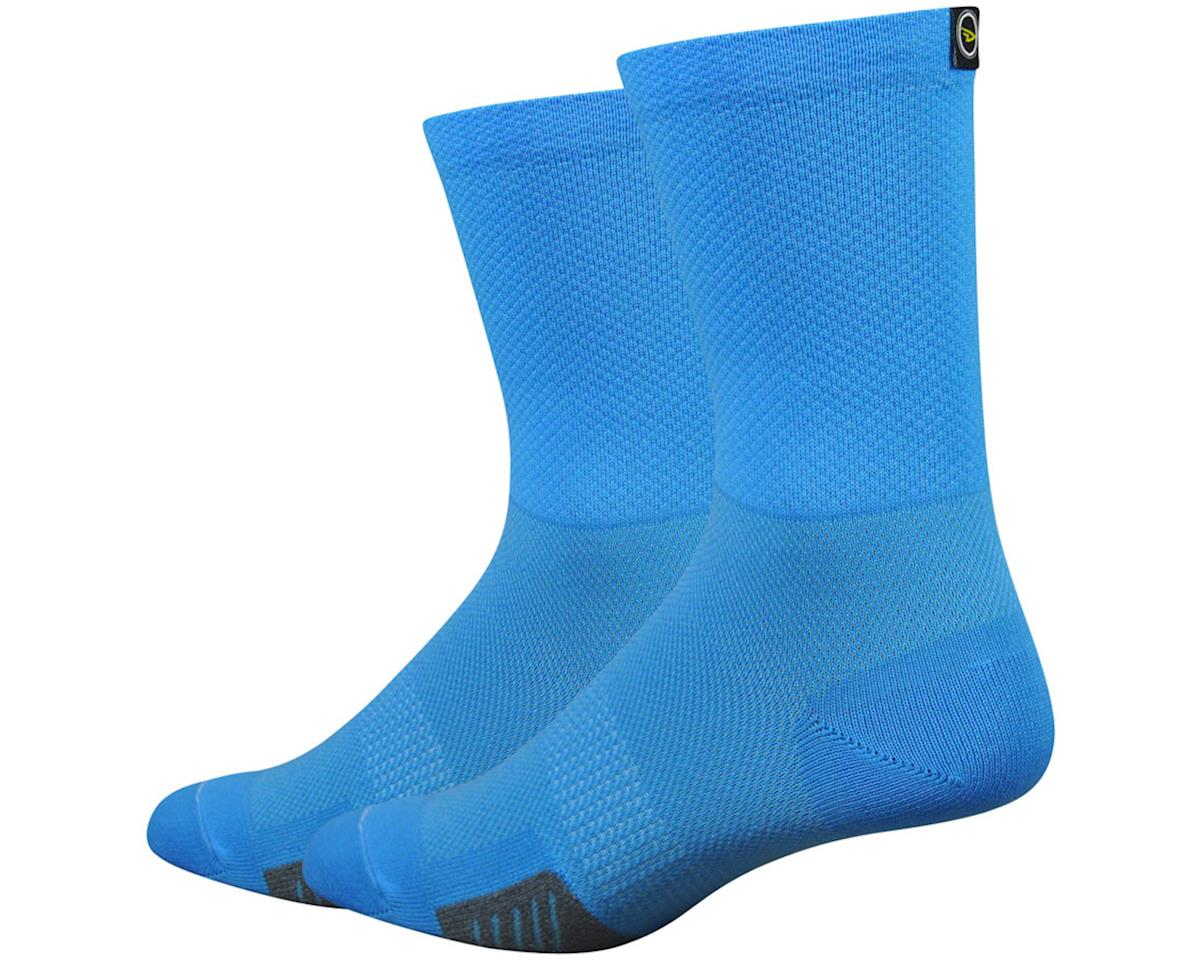 "DeFeet Cyclismo 5"" Sock (Blue) (XL)"