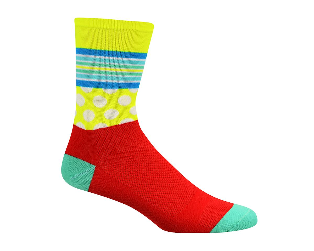 Image 1 for DeFeet Aireator Mash Up Socks - 2-Pack (Red)