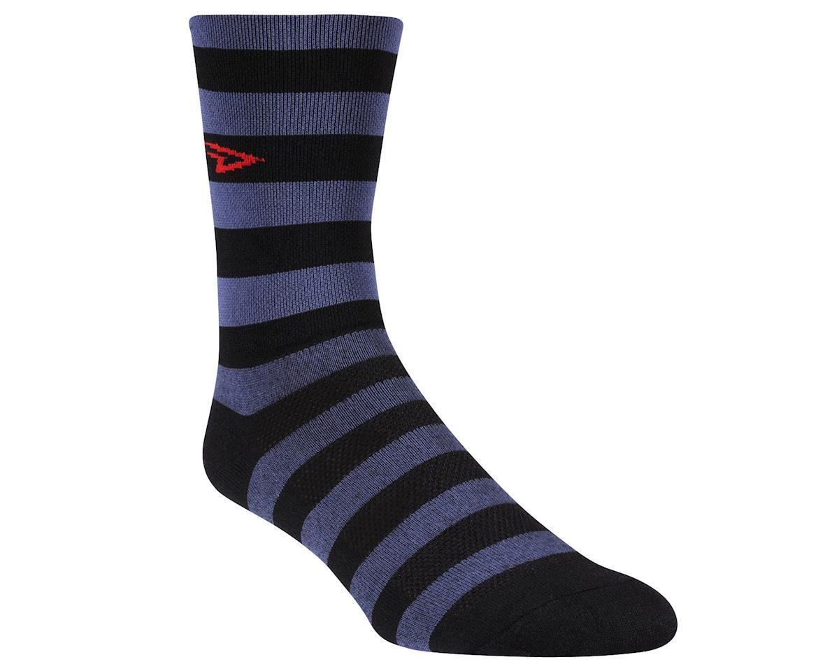 DeFeet Aireator Stripers (Black/Grey) (Xlarge)
