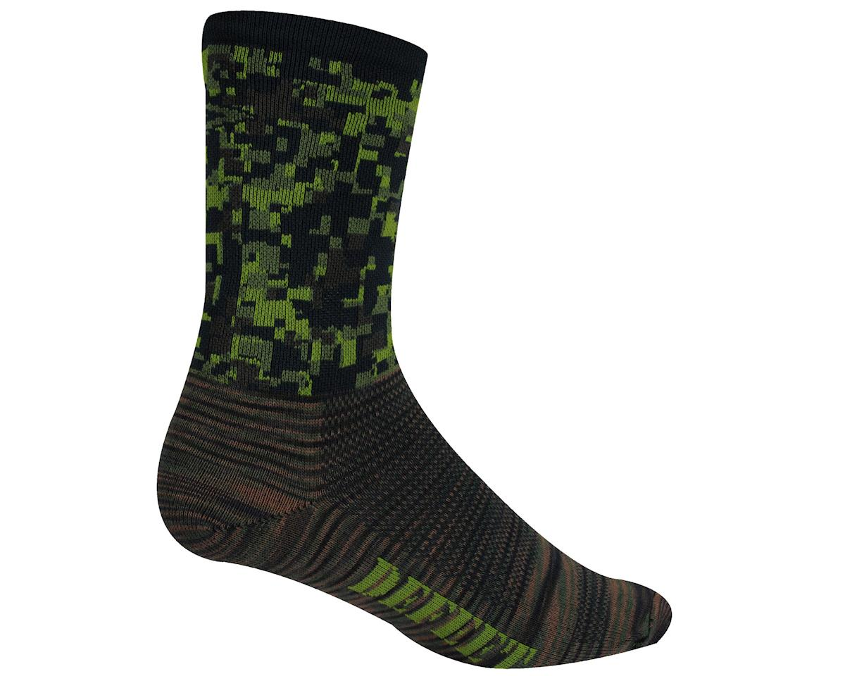 "DeFeet Air-E-Ator 5"" Recon Digital Camo Socks (Camouflage) (Xlarge)"