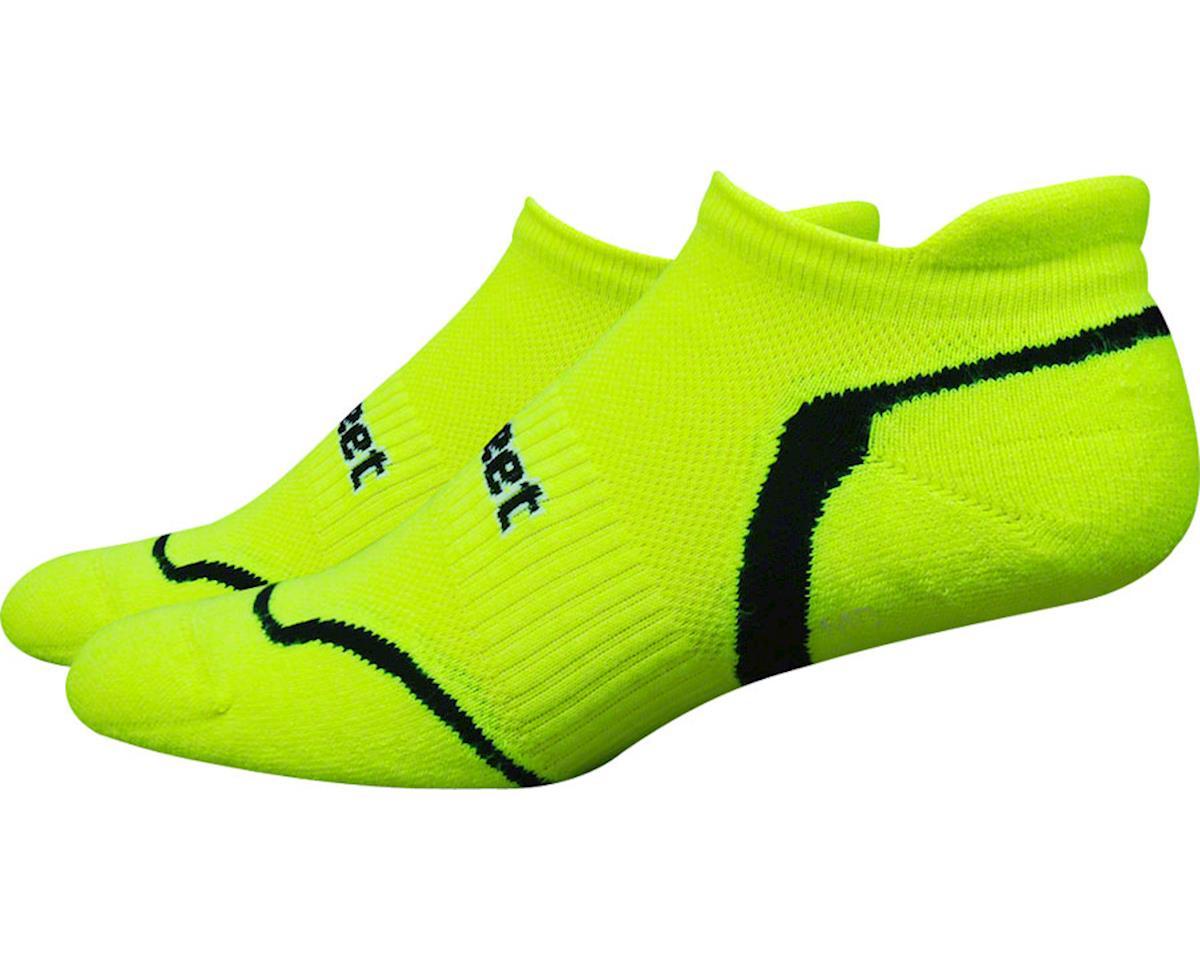 DeFeet D-Evo Tabby Sock (Hi-Vis Yellow/Black)