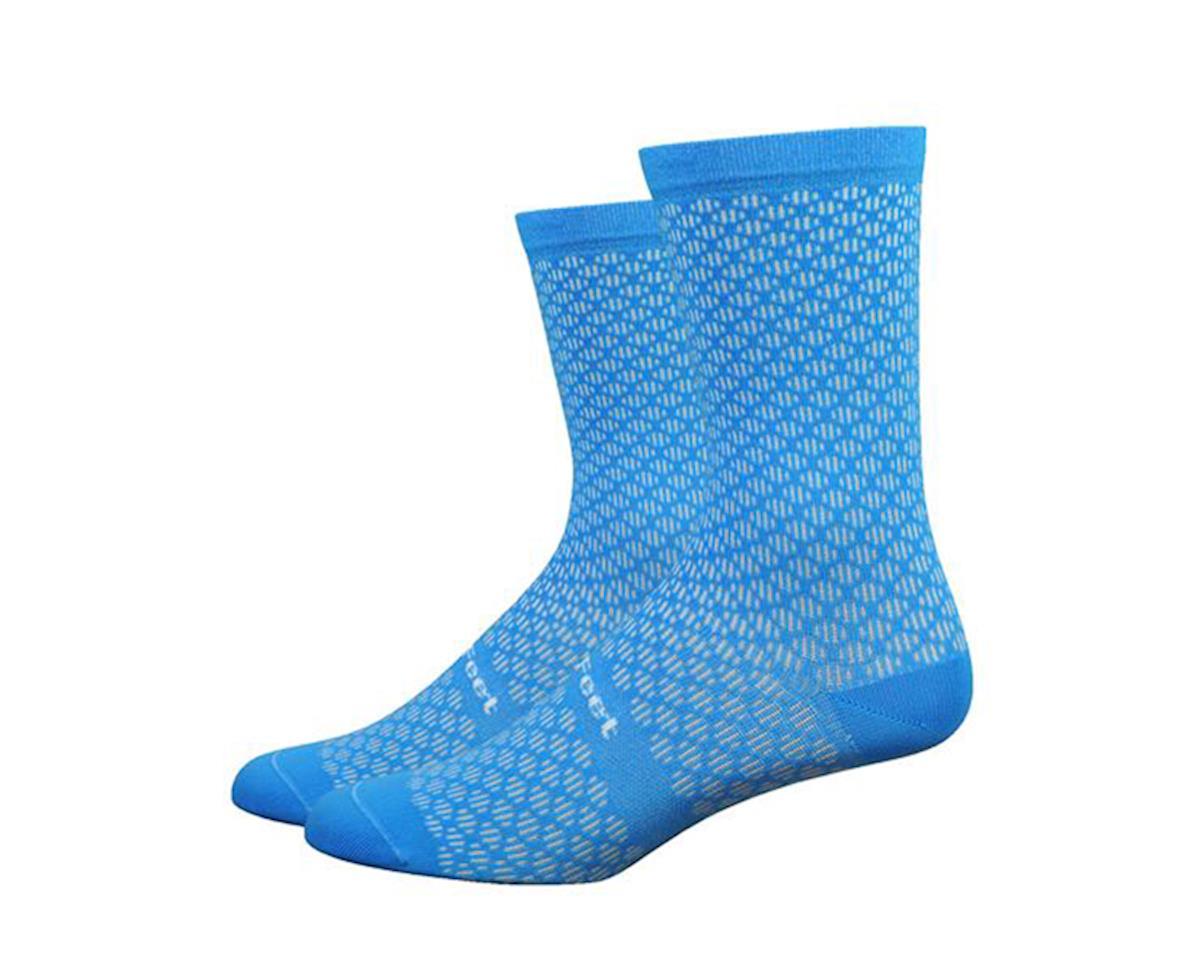 DeFeet Evo Mount Ventoux Socks (Barnstormer Blue) (M)
