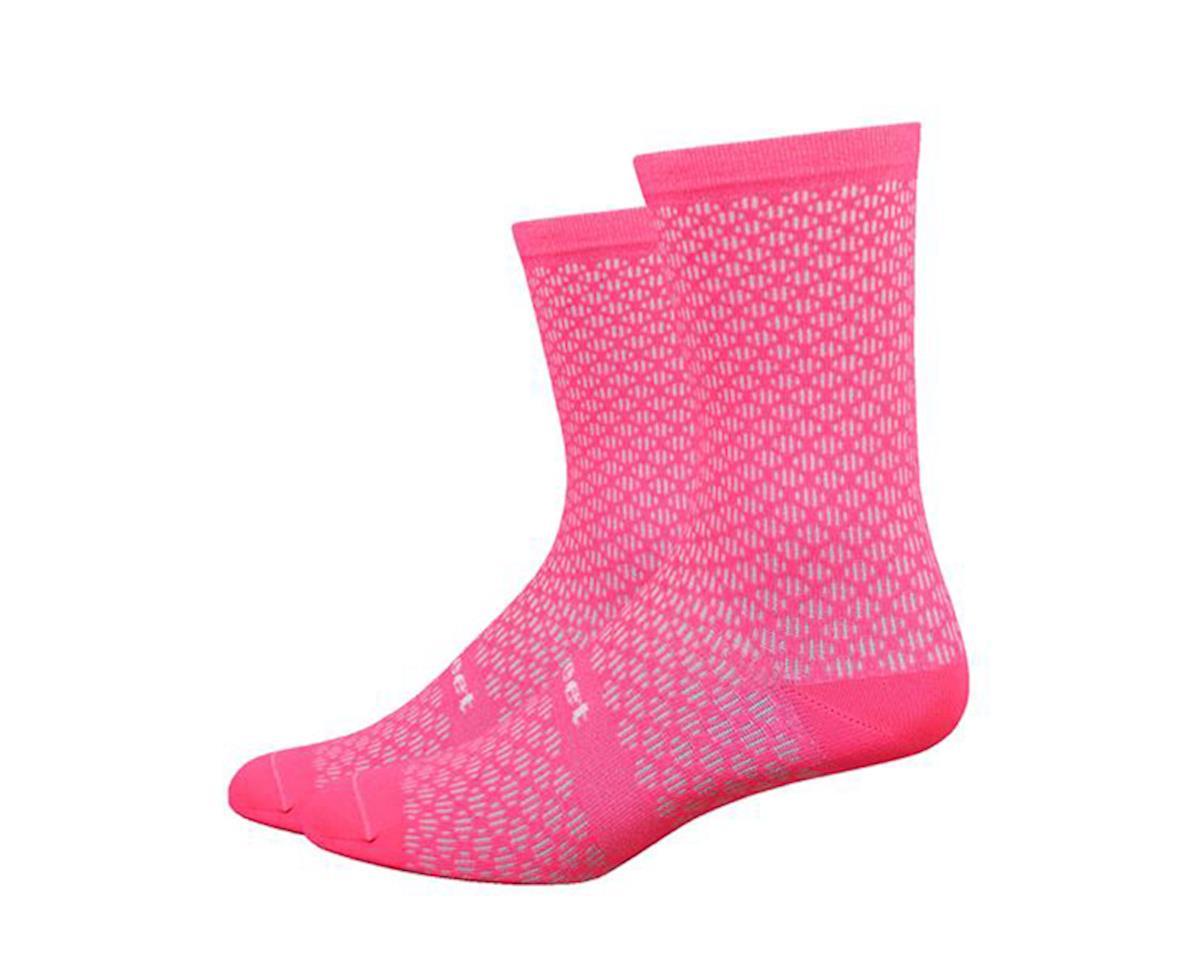 DeFeet Evo Mount Ventoux Socks (Flamingo Pink) (M)