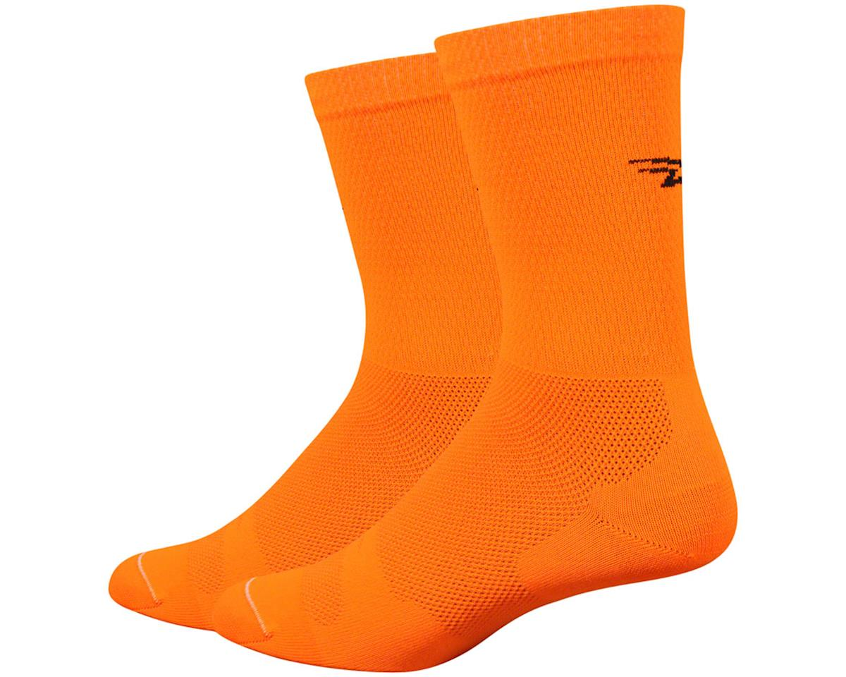 "DeFeet Levitator Lite 6"" Sock (Orange) (L)"