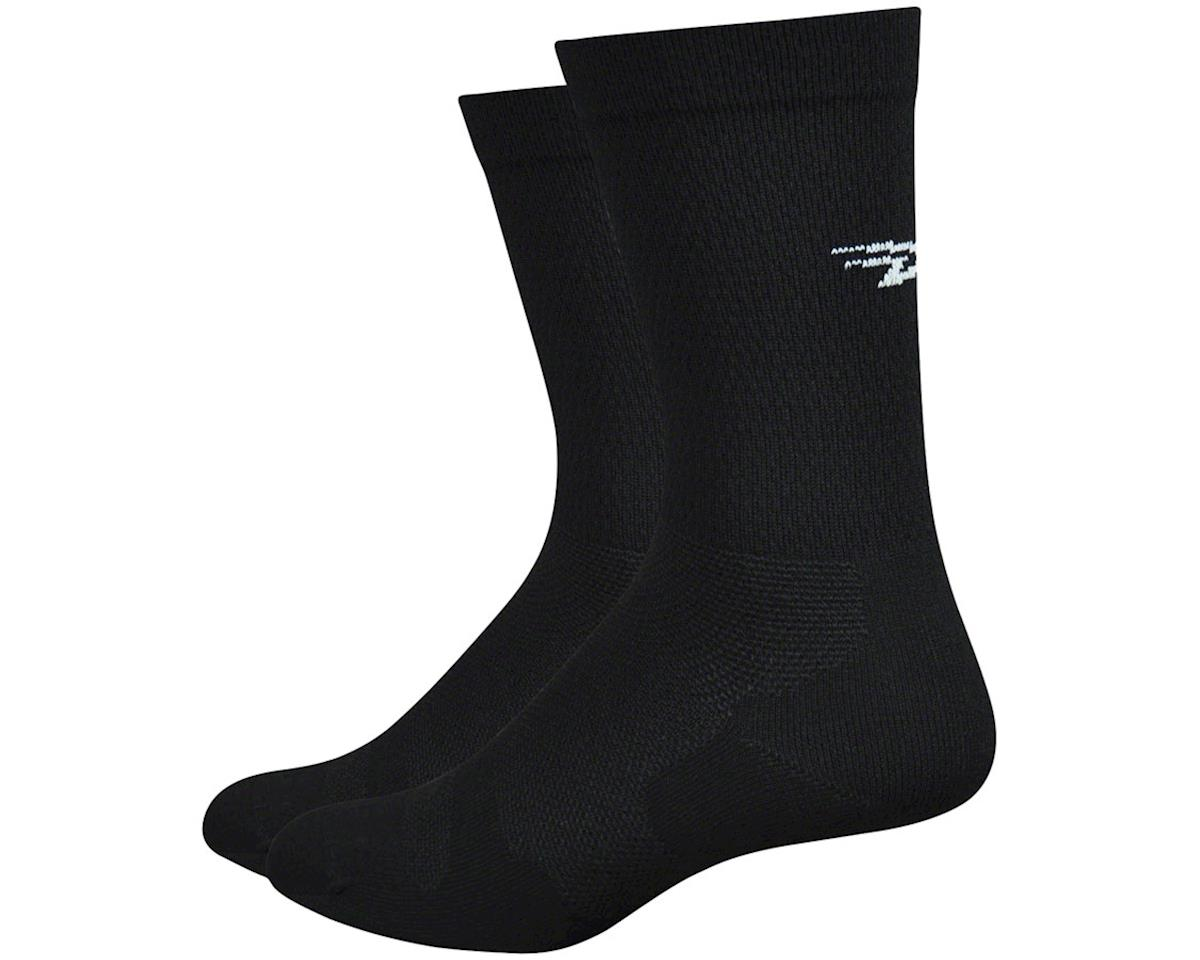 "DeFeet Levitator Lite 6"" Sock (Black) (M)"