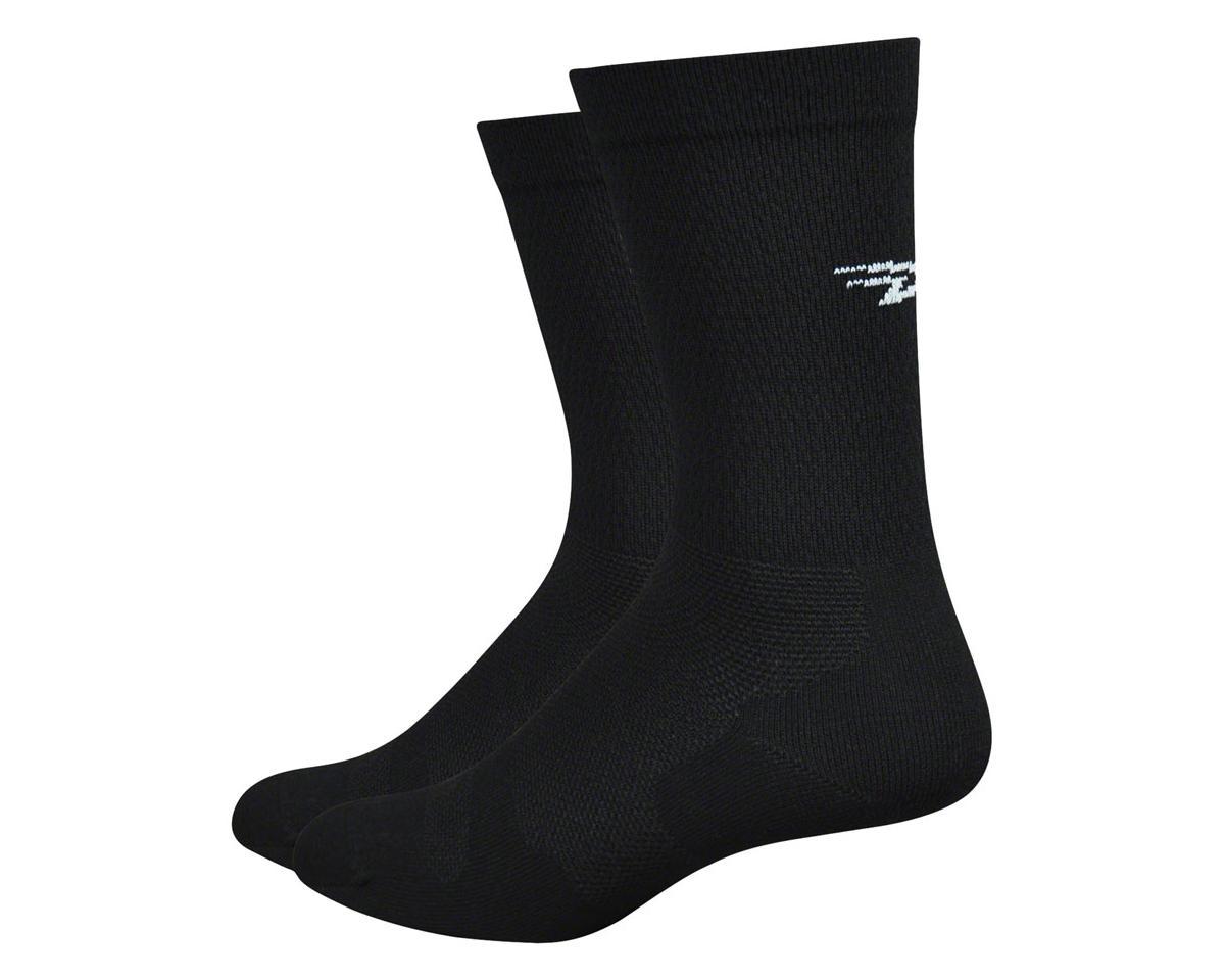 "DeFeet Levitator Lite 6"" Sock (Black) (M)"