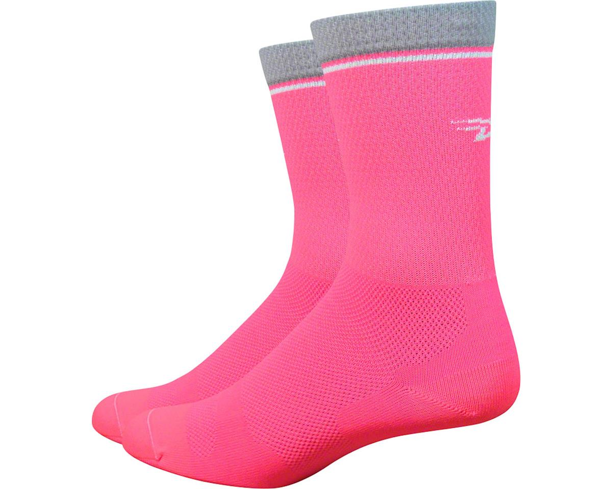 "DeFeet Levitator Lite 6"" Sock (Flamingo Pink)"