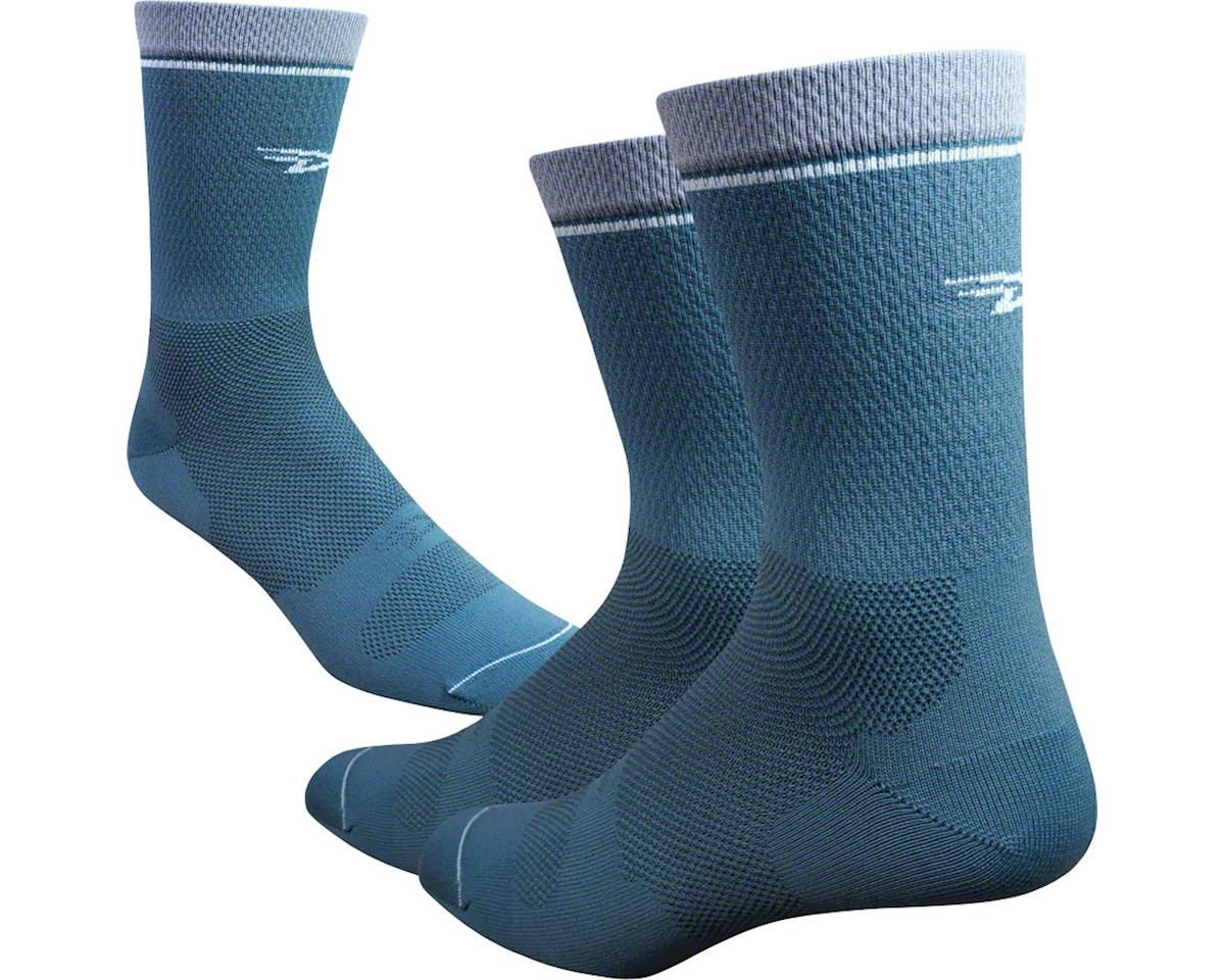 "DeFeet Levitator Lite 6"" Sock (Gunmetal) (S)"