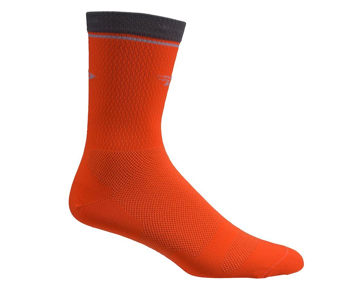 "DeFeet Levitator Lite 2 6"" Sock (Hi-Vis Orange) (M)"