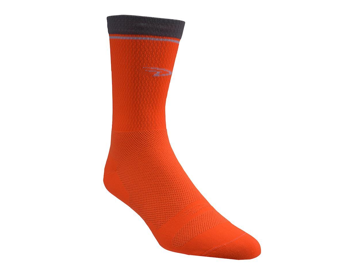 "Image 2 for DeFeet Levitator Lite 2 6"" Sock (Hi-Vis Orange) (M)"