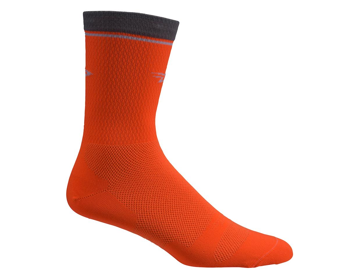 "DeFeet Levitator Lite 2 6"" Sock (Hi-Vis Orange) (XL)"