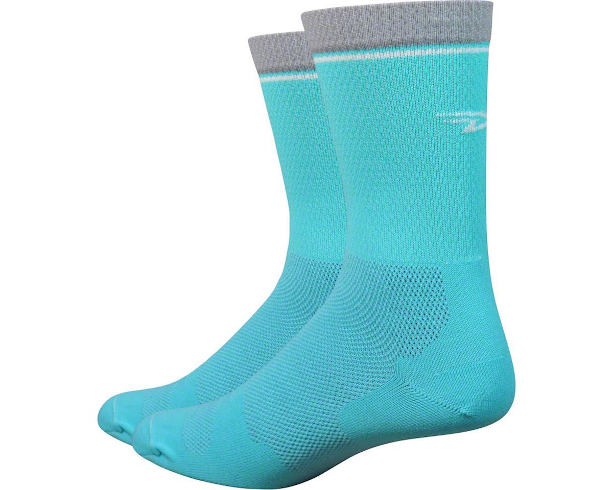 """DeFeet Levitator Lite 6"""" Sock: Neptune (M)"""