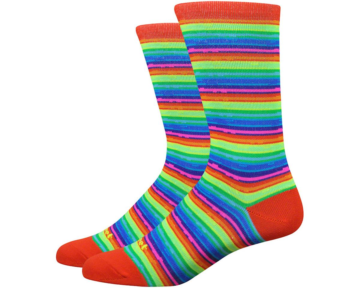 "DeFeet Mondo 6"" Spectrum Socks (Hi-Vis) (XL)"