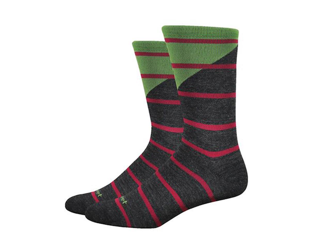 "Mondo Wool 7"" Tieon Socks (Black)"