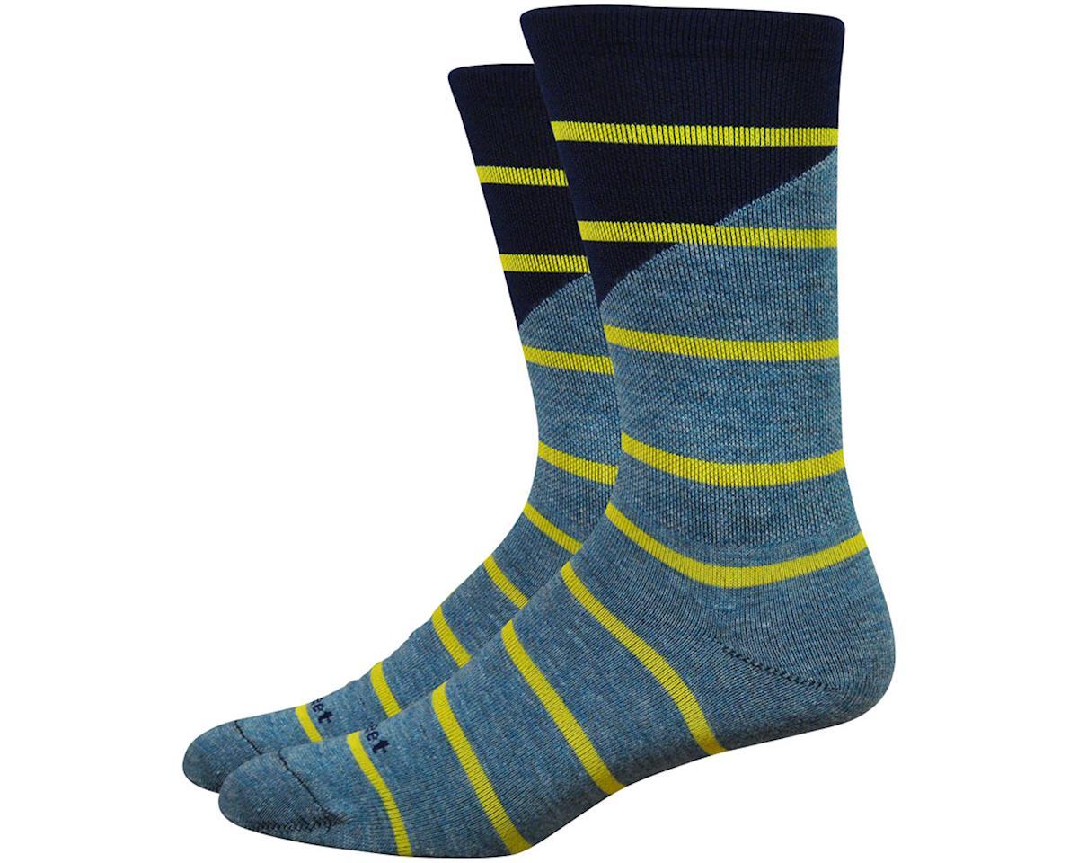 "DeFeet Mondo Comp 7"" Tieon Socks (Grey) (M)"