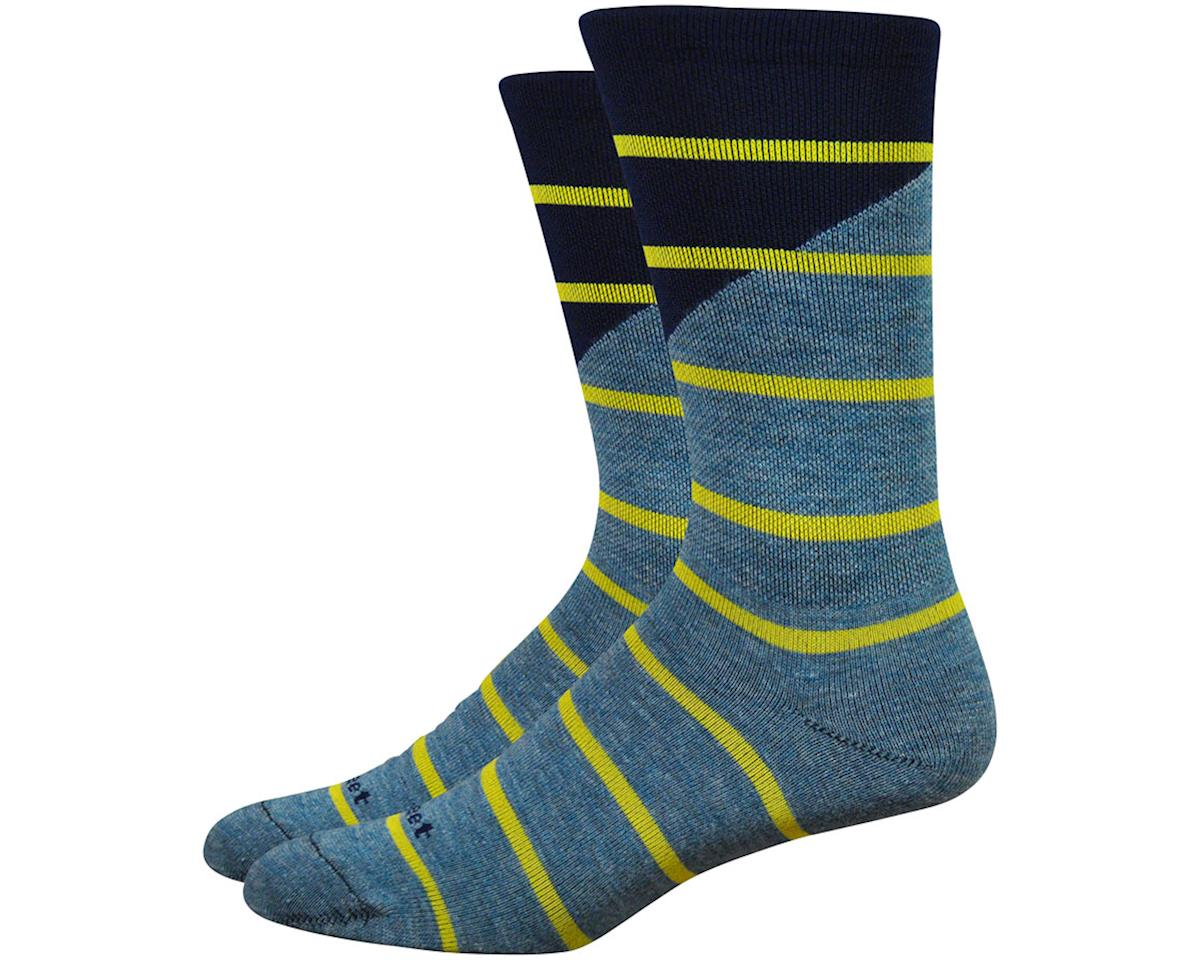 "DeFeet Mondo Comp 7"" Tieon Socks (Grey) (XL)"
