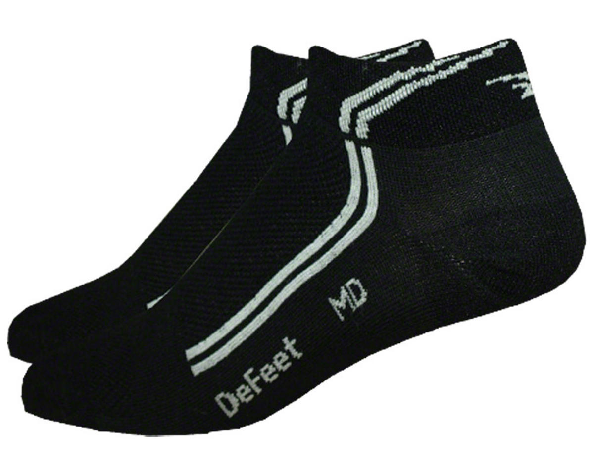 DeFeet SpeeDe DeLine Cycling Socks (Black) (M)