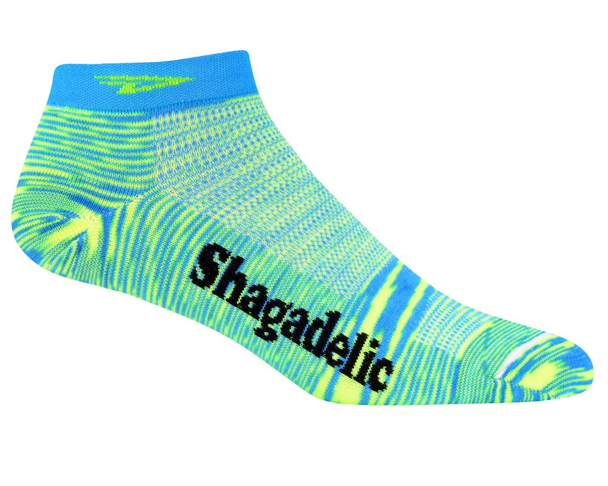 DeFeet Speede Shagadelic Women's Socks (Blue)
