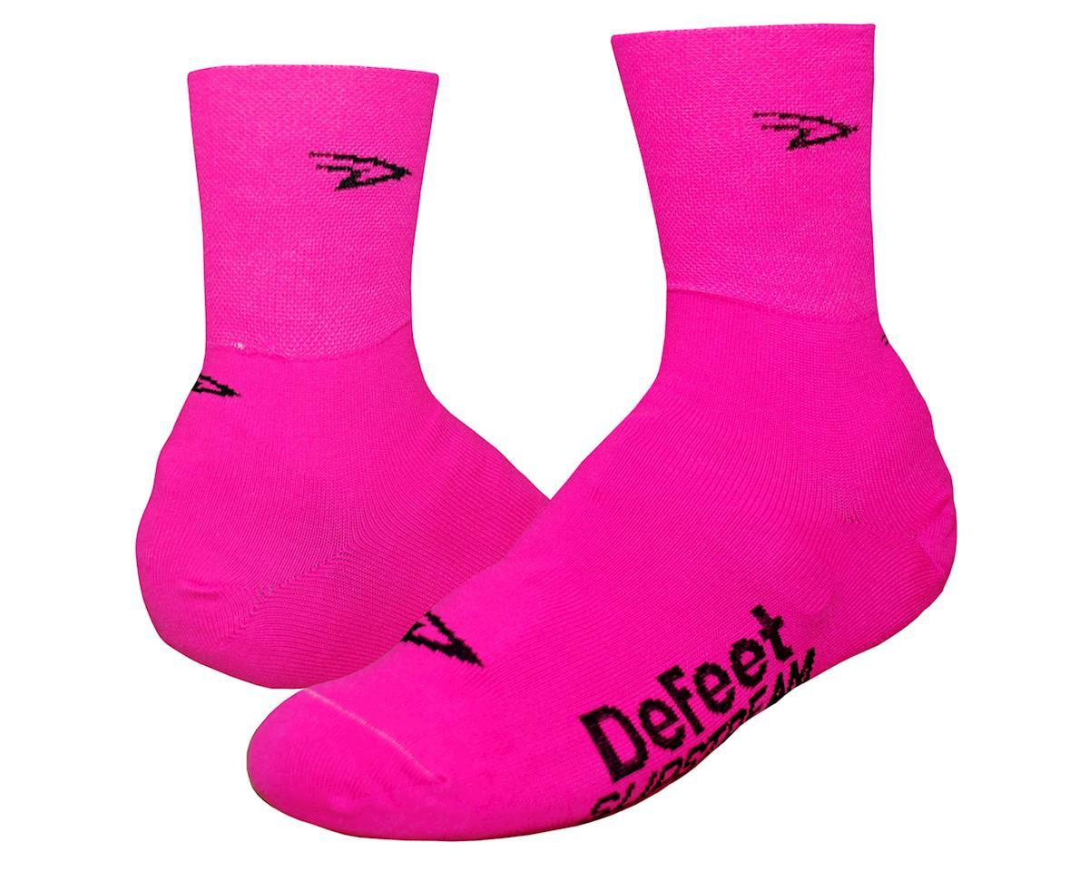 DeFeet Slipstream Shoe Cover (Hi-Vis Pink)