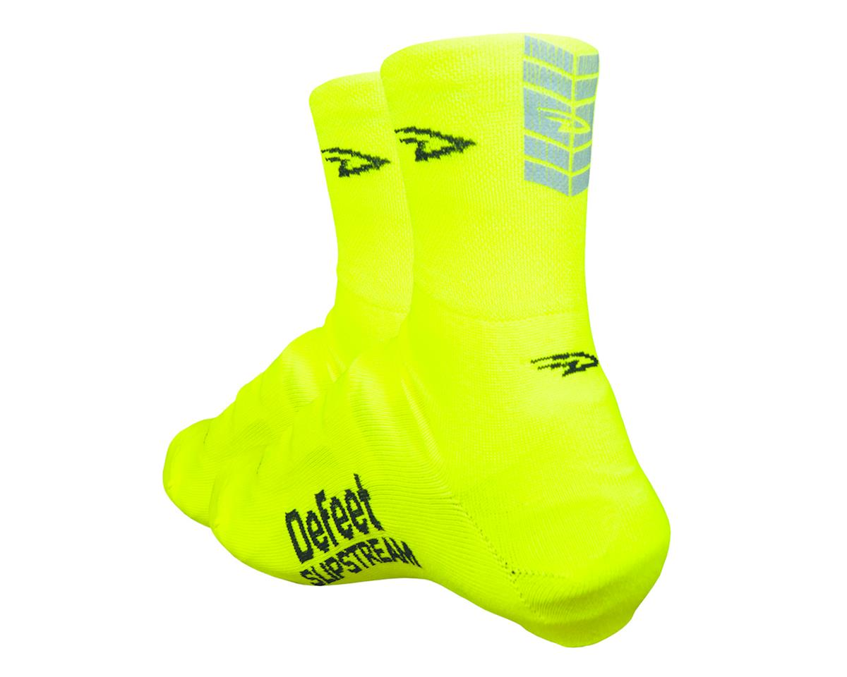 DeFeet Slipstream Shoe Cover (Neon Yellow) (S/M)