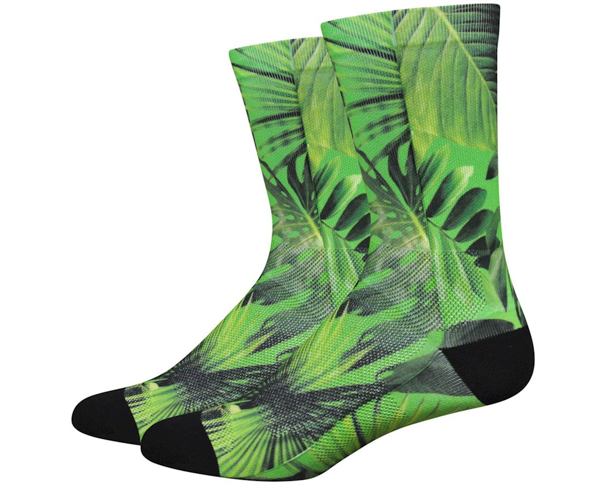"DeFeet Levitator Lite 6"" Jungle Sock (Green/Black)"