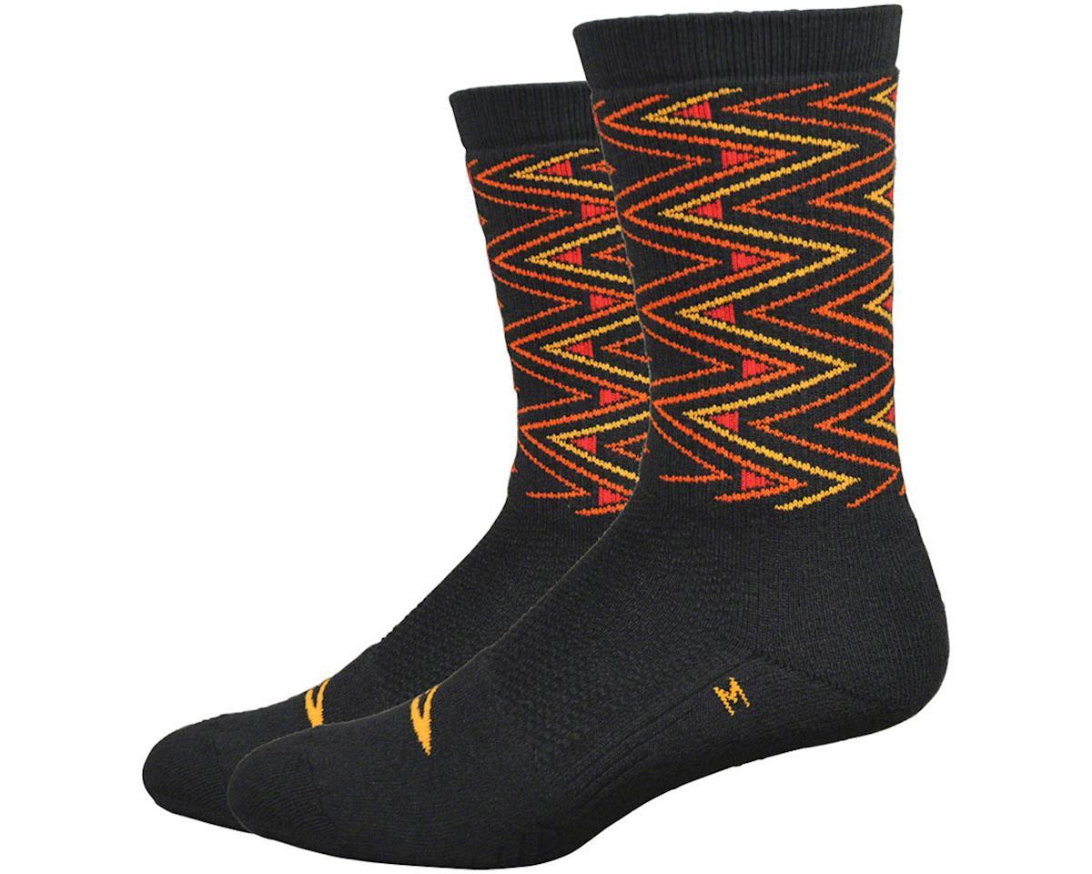"""DeFeet Thermeator 6"""" Sharpened Socks (Black) (M)"""