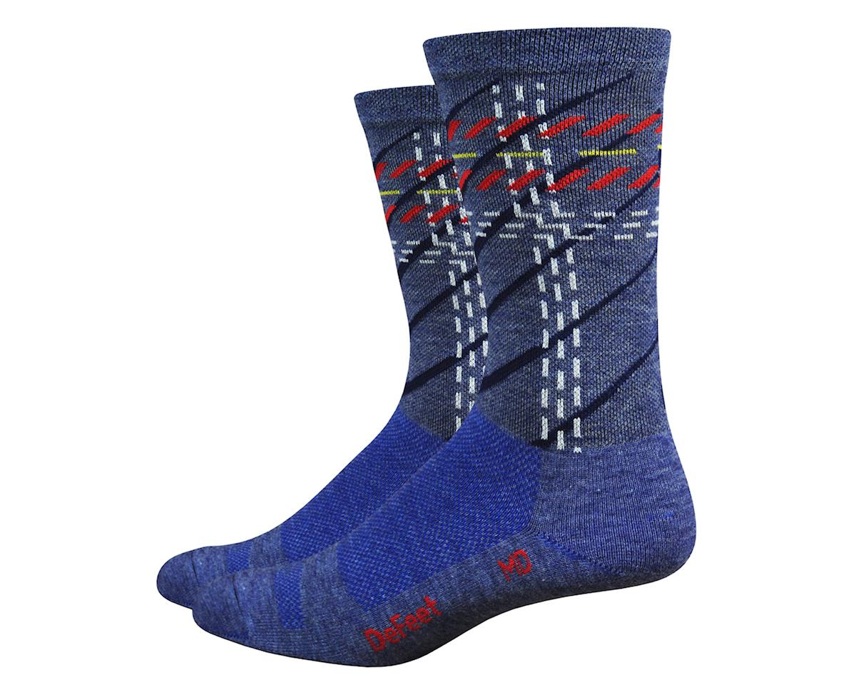 DeFeet Wooleator Karidescope Socks (Blue) (M)