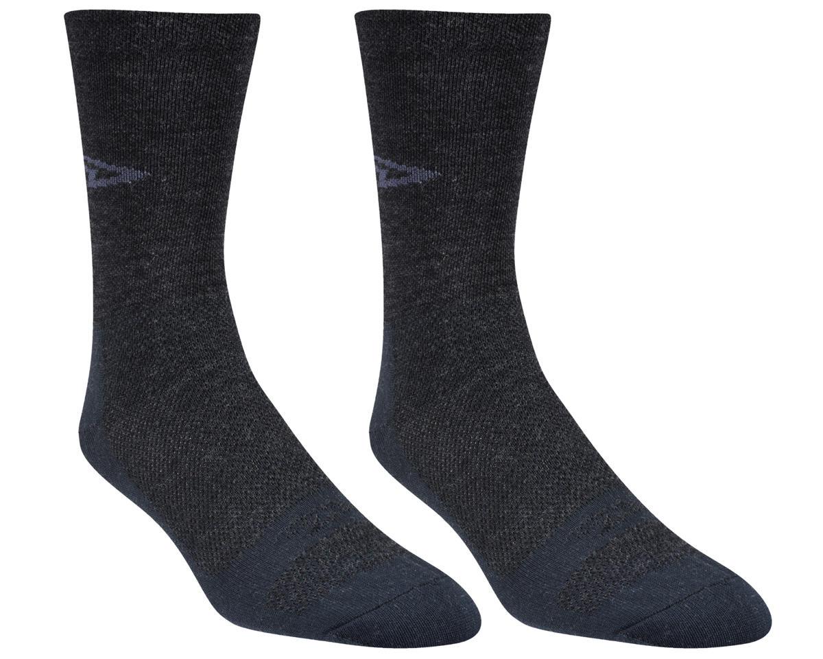 "Wooleator 5"" D-Logo Sock (Charcoal Gray)"