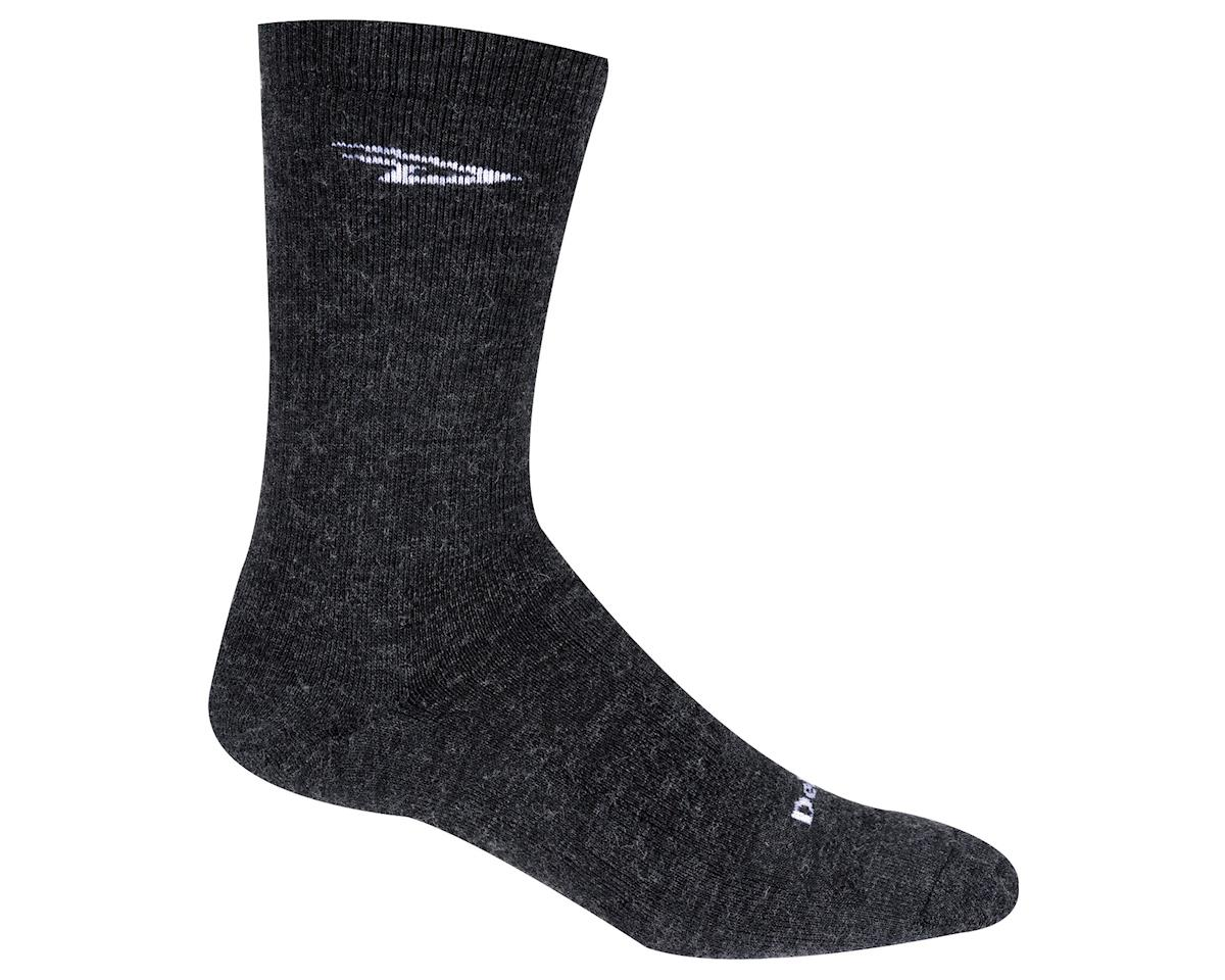 "DeFeet Woolie Boolie 6"" D-Logo Sock (Charcoal)"