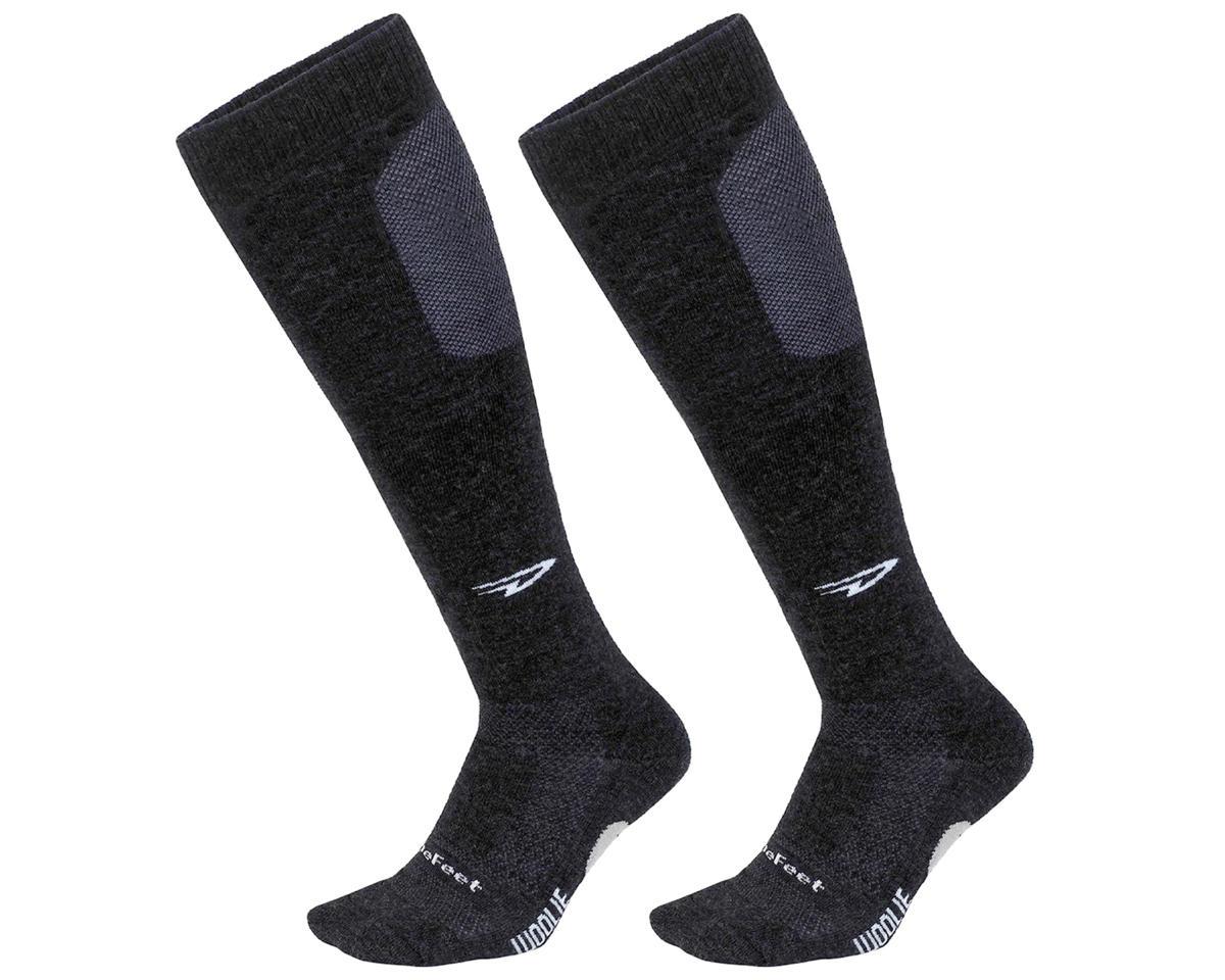 DeFeet Woolie Boolie Knee Hi Sock (Charcoal) (M)