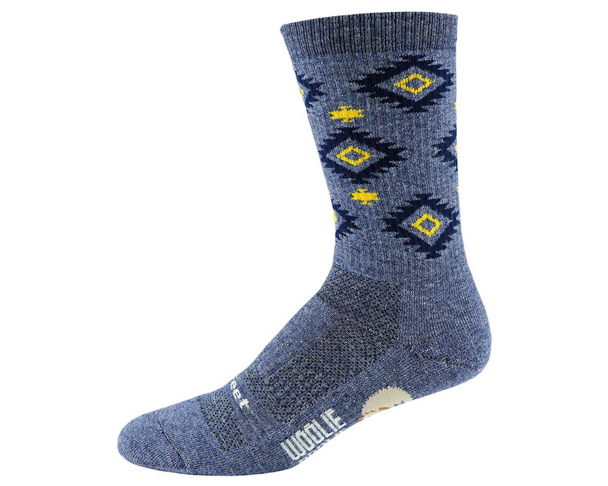 DeFeet Woolie Boolie Comp Socks (Aztec/Admiral Blue) (XL)