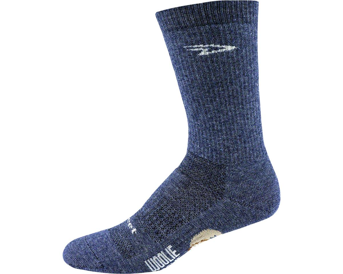"DeFeet Woolie Boolie 6"" Comp Sock (Admiral Blue) (XL)"