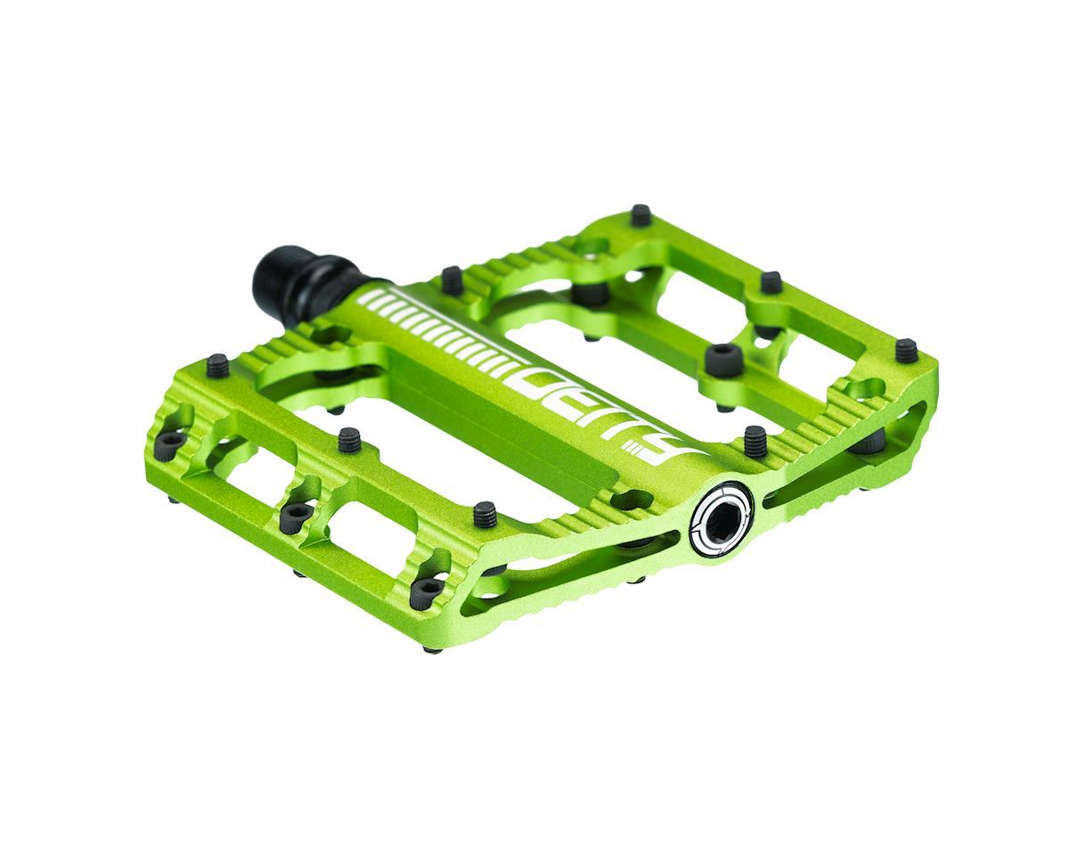 "Deity Black Kat Pedals (Green) (9/16"")"