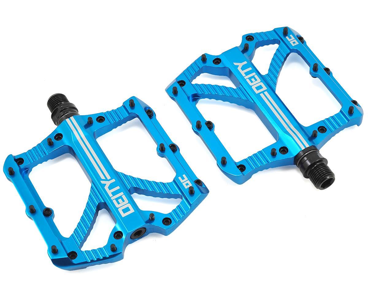 Deity Bladerunner Pedals (Blue Anodized)