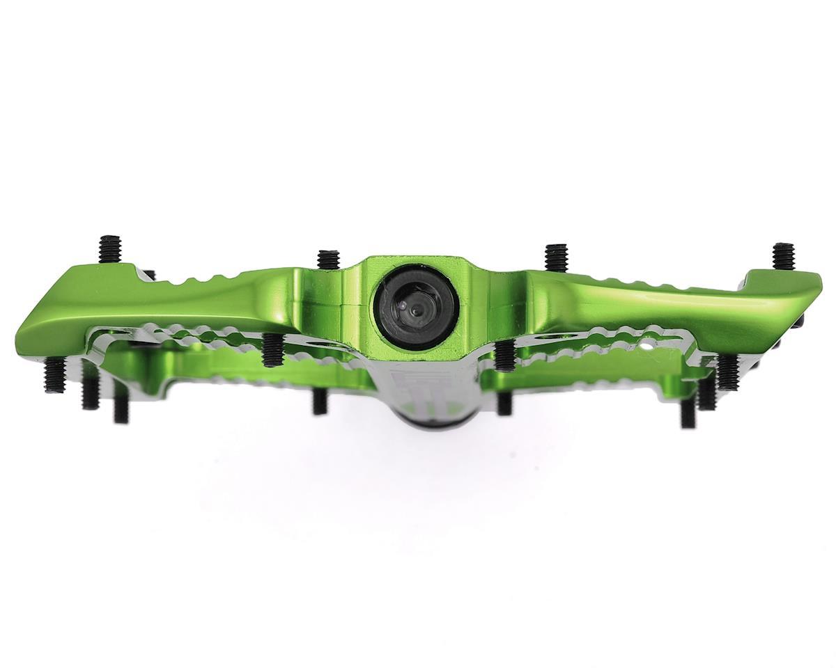 Deity Bladerunner Pedals (Green Anodized)