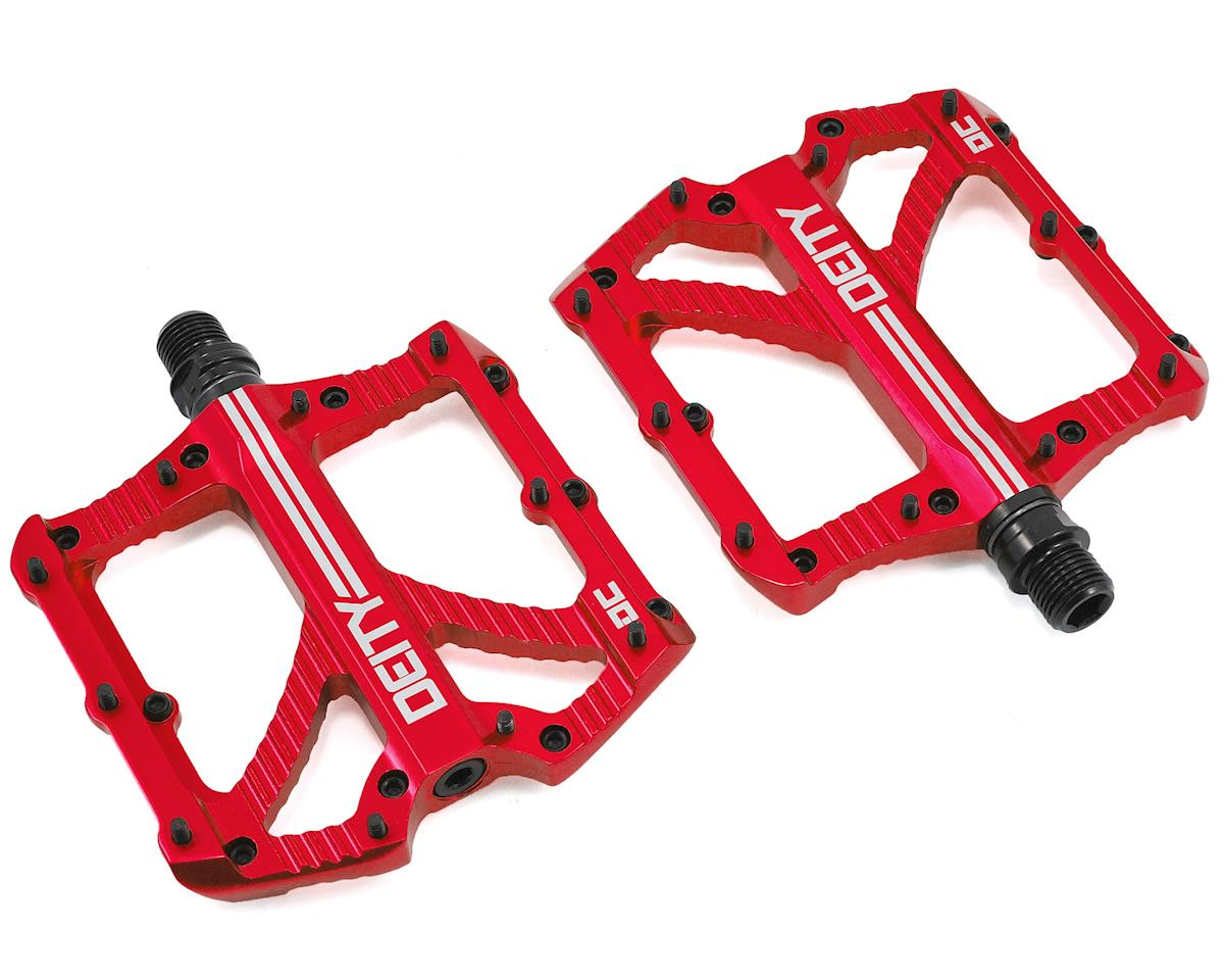Deity Bladerunner Pedals (Red Anodized)