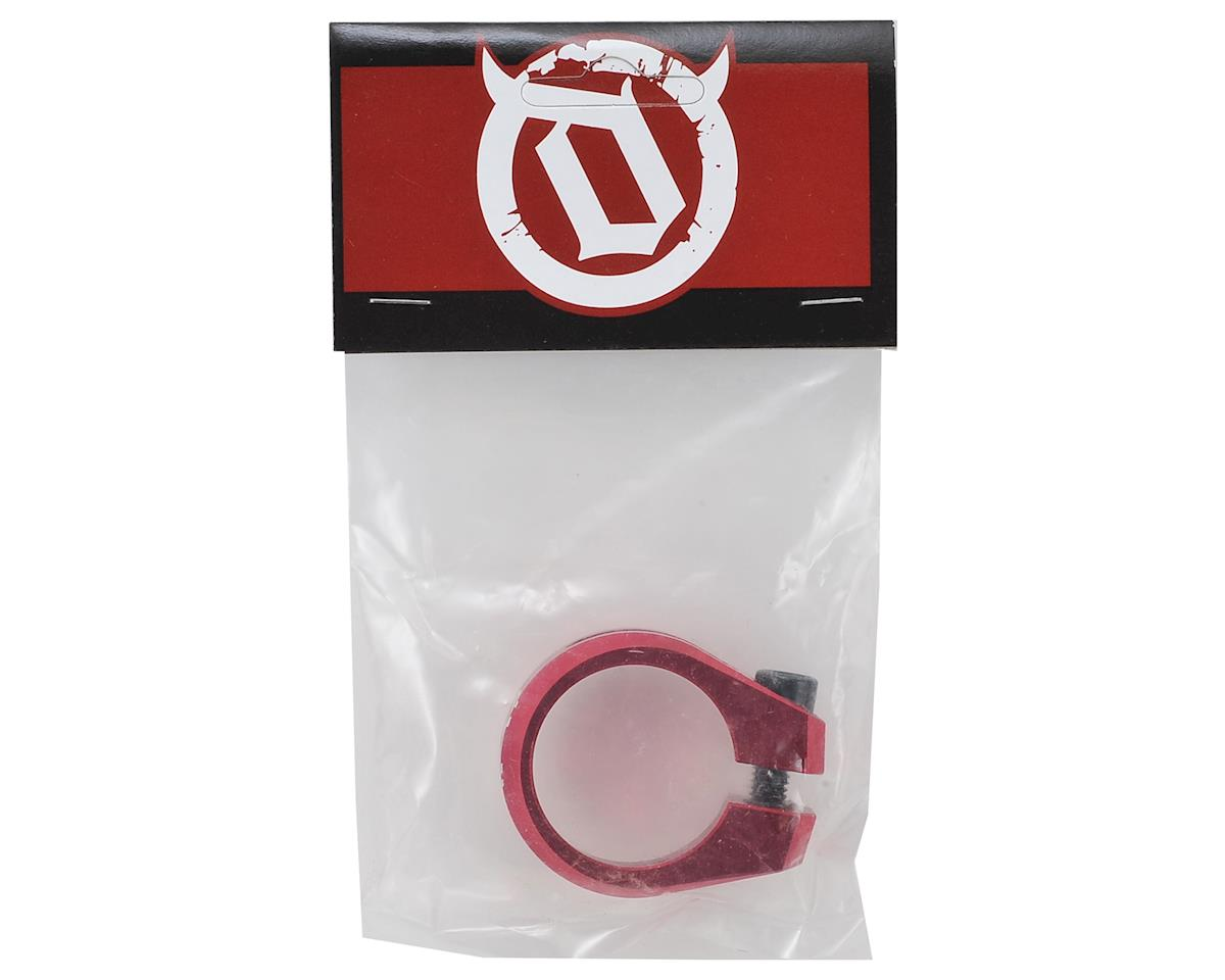 Deity Cinch Seatpost Clamp (31.8) (Red)