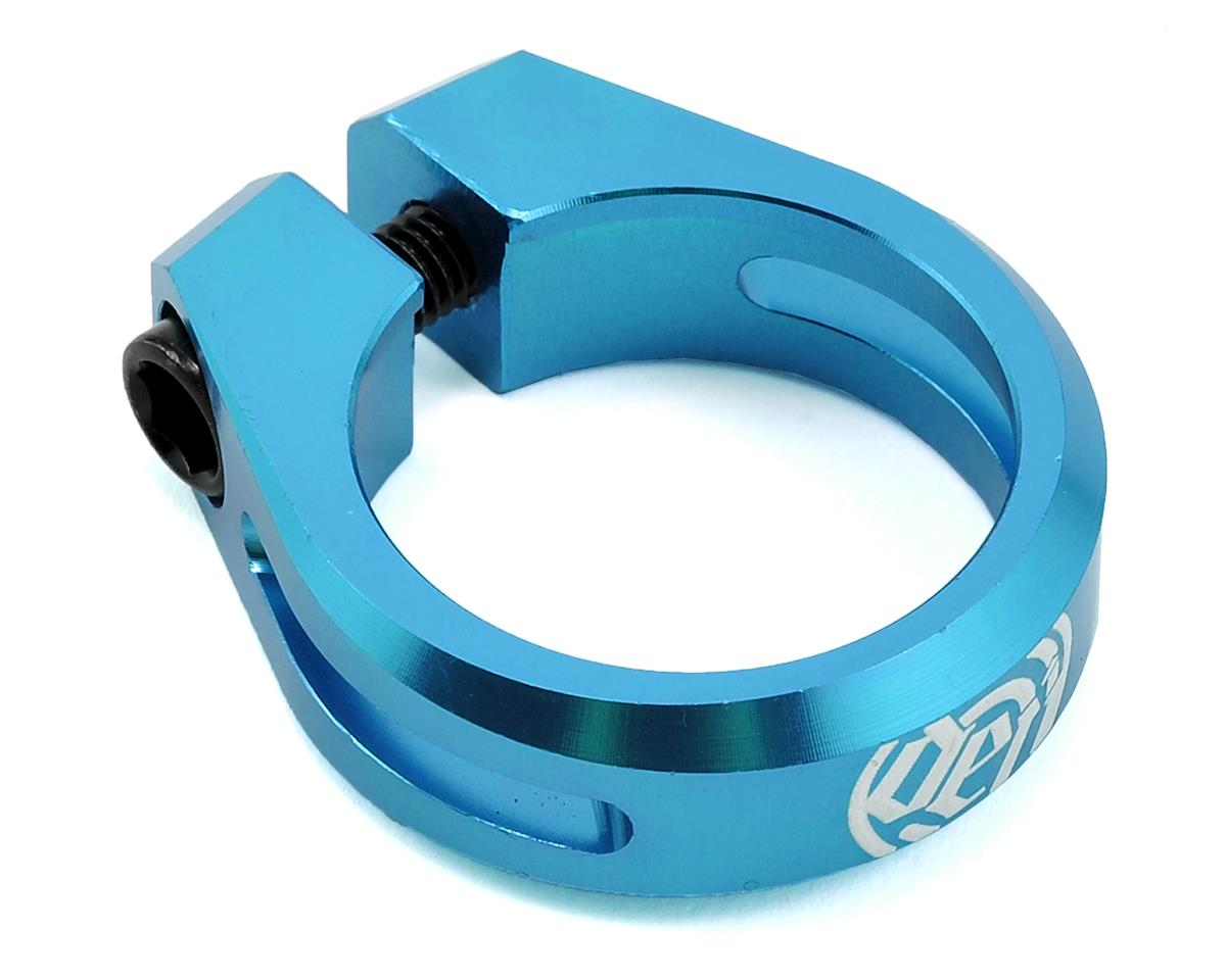 Deity Cinch Seatpost Clamp (34.9) (Blue)